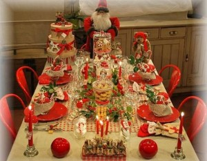 D coration de table no l id es - Idee deco table de noel ...