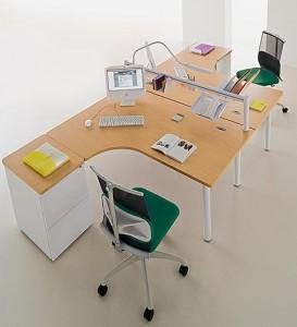 bureau deux personnes maison design. Black Bedroom Furniture Sets. Home Design Ideas