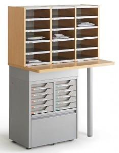 Un mobilier de rangement design pas cher dans bons plans mobilier-de-tri-courrier-234x300